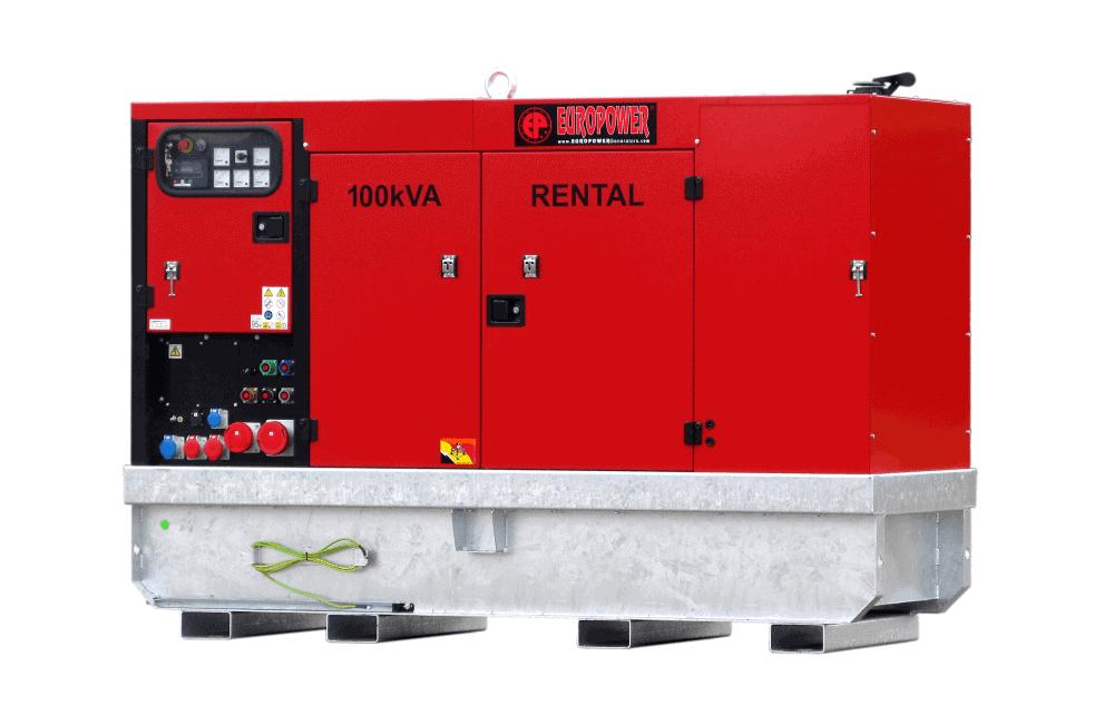 Stroomaggregaat 100 kVA